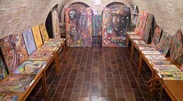 Umělecké výstavy a vernisáž