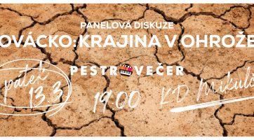 Slovácko: krajina v ohrožení (panelová diskuze)